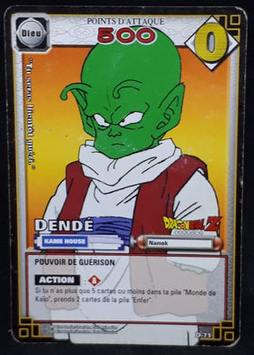 carte dragon ball z Cartes À Jouer Et À Collectionner(JCC) Part 1 n°D-71 (2005) bandai dende dbz cardamehdz