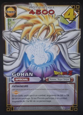 carte dragon ball z Cartes À Jouer Et À Collectionner (JCC) Part 2 n°D-158 (2006) bandai songohan dbz cardamehdz