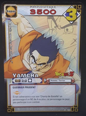 carte dragon ball z Cartes À Jouer Et À Collectionner (JCC) Part 2 n°D-160 (2006) bandai yamcha dbz cardamehdz