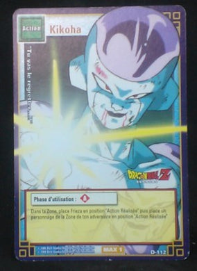 carte dragon ball z Cartes à jouer et à collectionner (JCC) Part 1 D-112 (2005) bandai freezer dbz cardamehdz