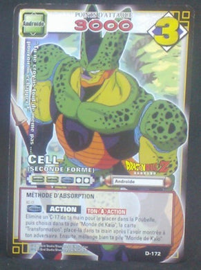 carte dragon ball z Cartes à jouer et à collectionner (JCC) Part 2 D-172 (2006) bandai cell dbz cardamehdz