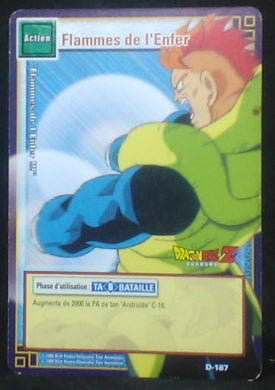 carte dragon ball z Cartes à jouer et à collectionner (JCC) Part 2 D-187 (2006) bandai android n°16 dbz cardamehdz