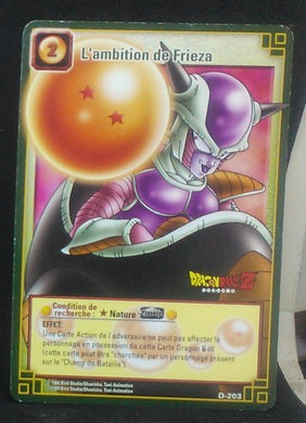 carte dragon ball z Cartes à jouer et à collectionner (JCC) Part 2 D-203 (2006) bandai freezer dbz cardamehdz