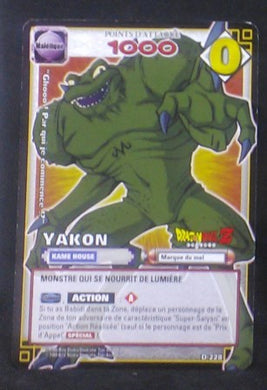 carte dragon ball z Cartes à jouer et à collectionner (JCC) Part 2 D-228 (2006) bandai yakon dbz cardamehdz