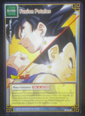 carte dragon ball z Cartes à jouer et à collectionner (JCC) Part 3 D-273 (2006) bandai songoku vegeta dbz cardamehdz