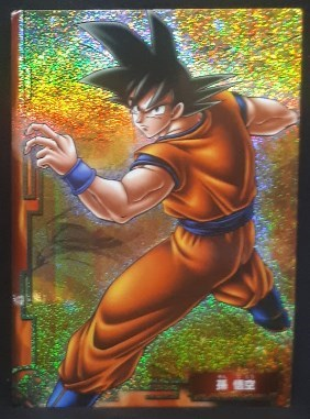 carte dragon ball z Collection Card Gum Part 1 SP n° 1 (2005) Ensky songoku dbz cardamehdz