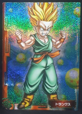 carte dragon ball z Collection Card Gum Part 1 SP n° 3 (2005) Ensky trunks dbz cardamehdz