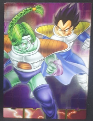 carte dragon ball z Collection Card Gum Part 4 SP n°39 (2006) Ensky vegeta vs zarbon dbz cardamehdz