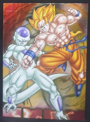 carte dragon ball z Collection Card Gum Part 4 SP n°41 (2006) Ensky freezer vs songoku dbz cardamehdz