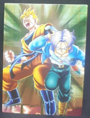 carte dragon ball z Collection Card Gum Part 4 SP n°45 (2006) Ensky mirai songohan mirai trunks dbz cardamehdz