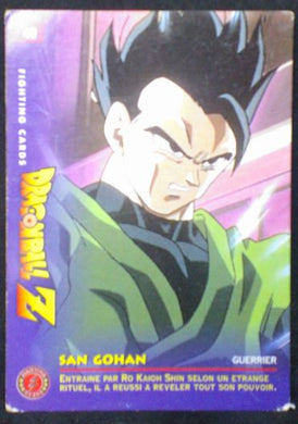 carte dragon ball z Fighting Cards n°49 (1999) panini songohan dbz cardamehdz