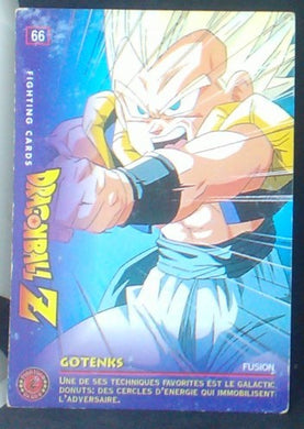 carte dragon ball z Fighting Cards n°66 (1999) Panini gotenks cardamehdz