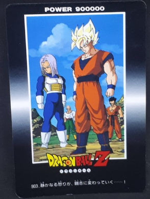 carte dragon ball z PP Card Part 21 n°903 (1993) Amada mirai trunks songoku yamcha tenshinhan dbz cardamehdz