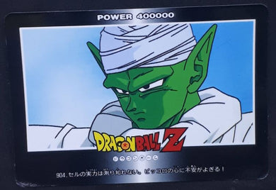 carte dragon ball z PP Card Part 21 n°904 (1993) Amada piccolo dbz cardamehdz