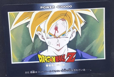 carte dragon ball z PP Card Part 21 n°910 (1993) Amada songohan dbz cardamehdz