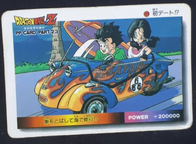 carte dragon ball z PP Card Part 23 n°1015 (1994) Amada songohan videl dbz cardamehdz