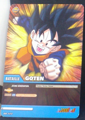 carte dragon ball z Super Cartes À Jouer Et À Collectionner Part 3 n°DB-422 (2009) songoten bandai cardamehdz