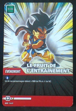 carte dragon ball z Super Cartes À Jouer Et À Collectionner Part 3 n°DB-560 (2009) songoku bandai cardamehdz