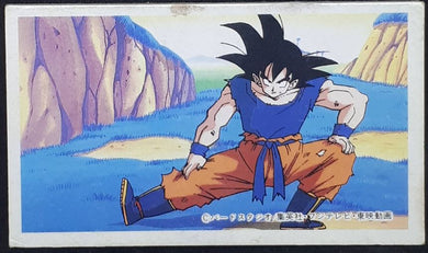 carte dragon ball z menko 10 songoku dbz cardamehdz