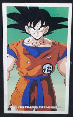 carte dragon ball z menko 6 songoku dbz