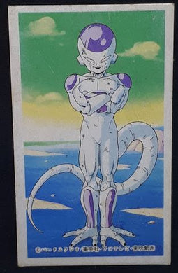 carte dragon ball z menko 9 freezer dbz cardamehdz