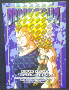 carte dragon ball z memorial photo 59 prisme vegeta trunks