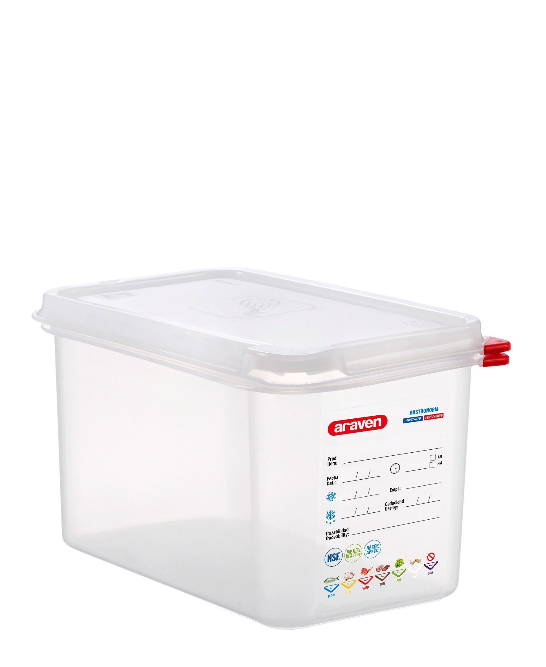 Araven Airtight Food Storage Container 4,3L