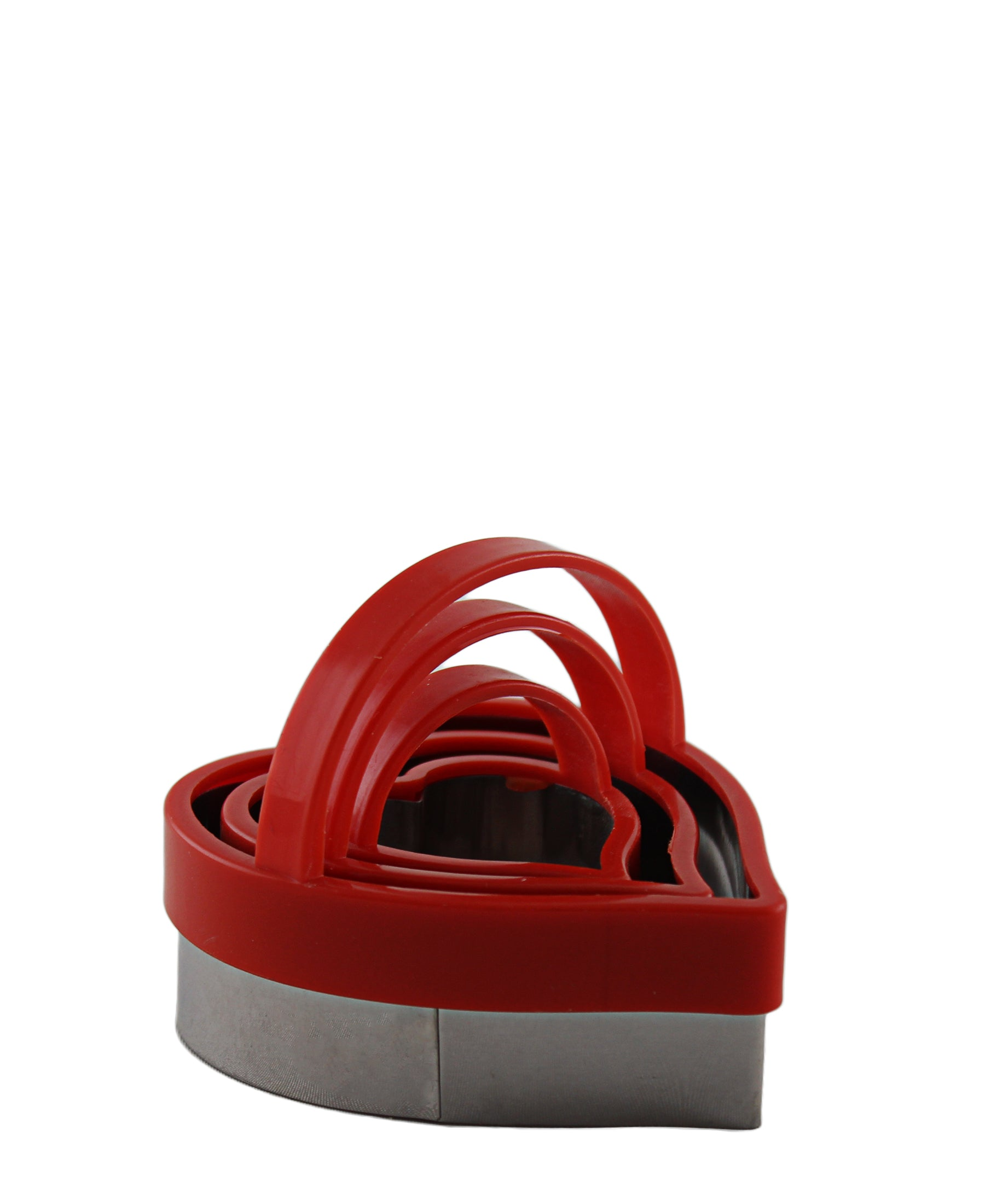 Progressive Heart Cookie Cutter 3 Piece - Red