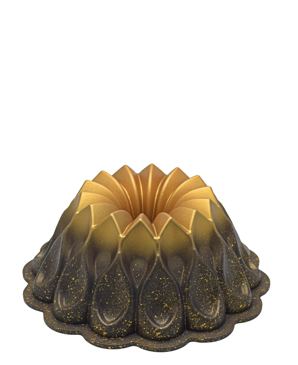OMS Volcano Cake Mould 26cm - Gold