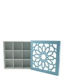 Flower Storage Tray - Baby Blue