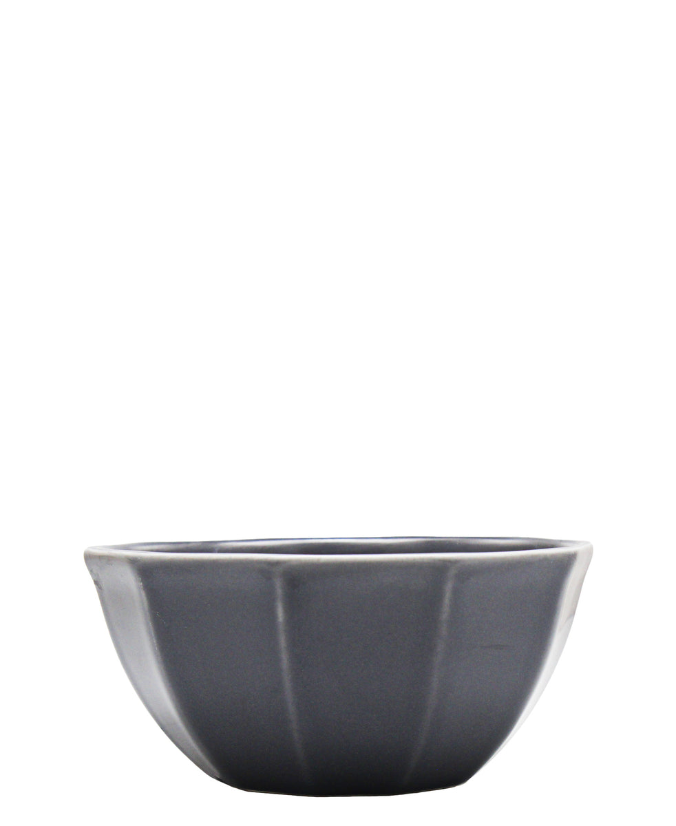 Eetrite Embossed Cereal Bowl 15cm - Grey