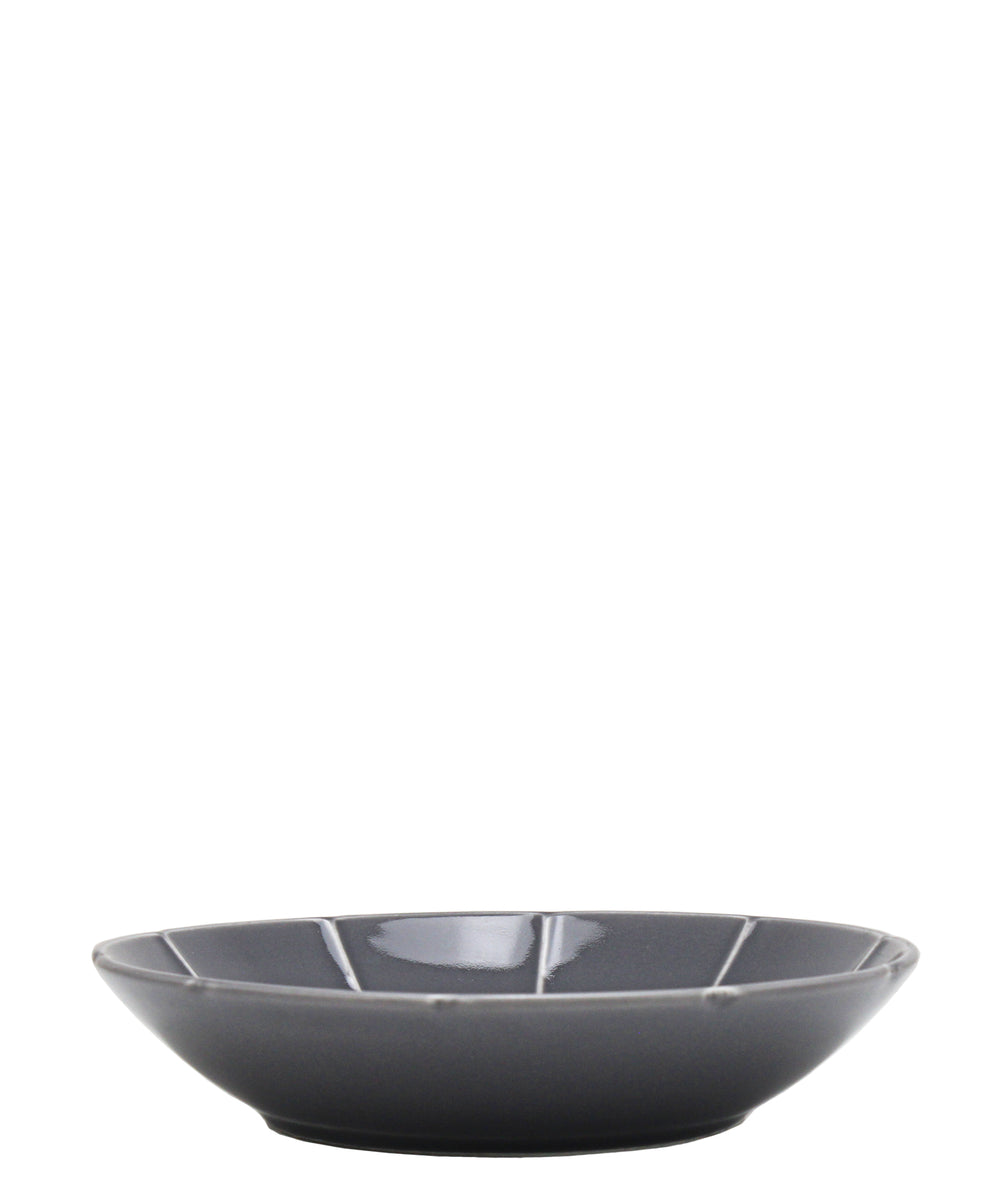 Eetrite Embossed Soup Bowl 23cm - Grey
