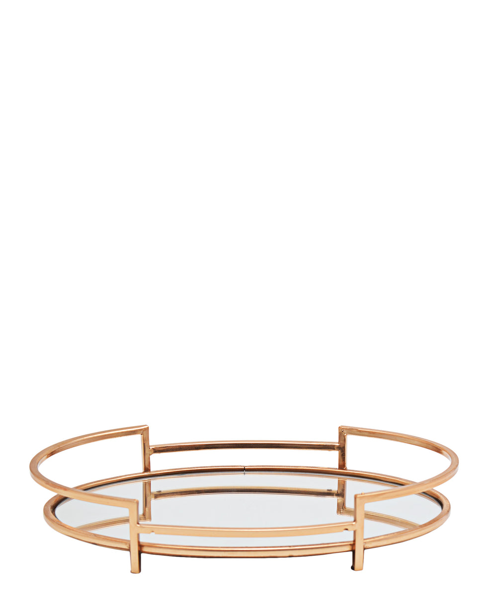 Softyhome 2 Piece Tray - Rose Gold