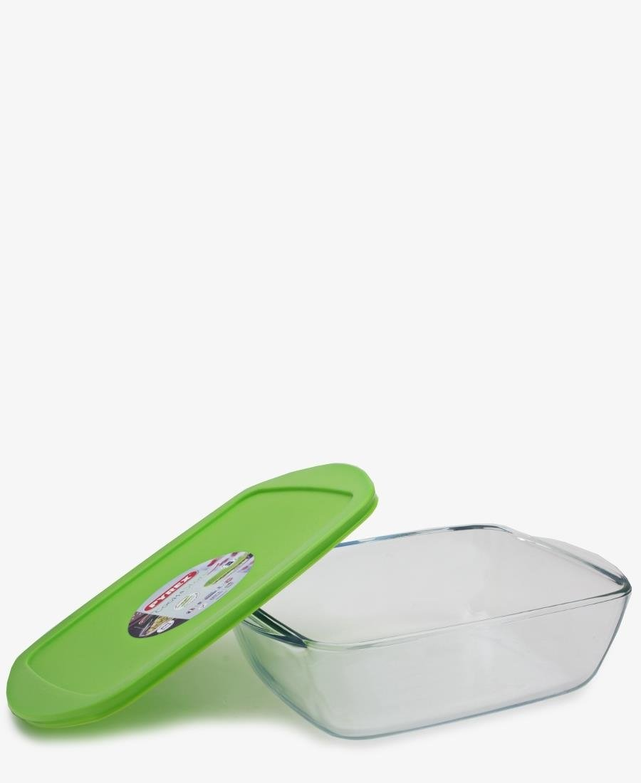 Pyrex 2.5L Heat Resistant Casserole & Container - Green