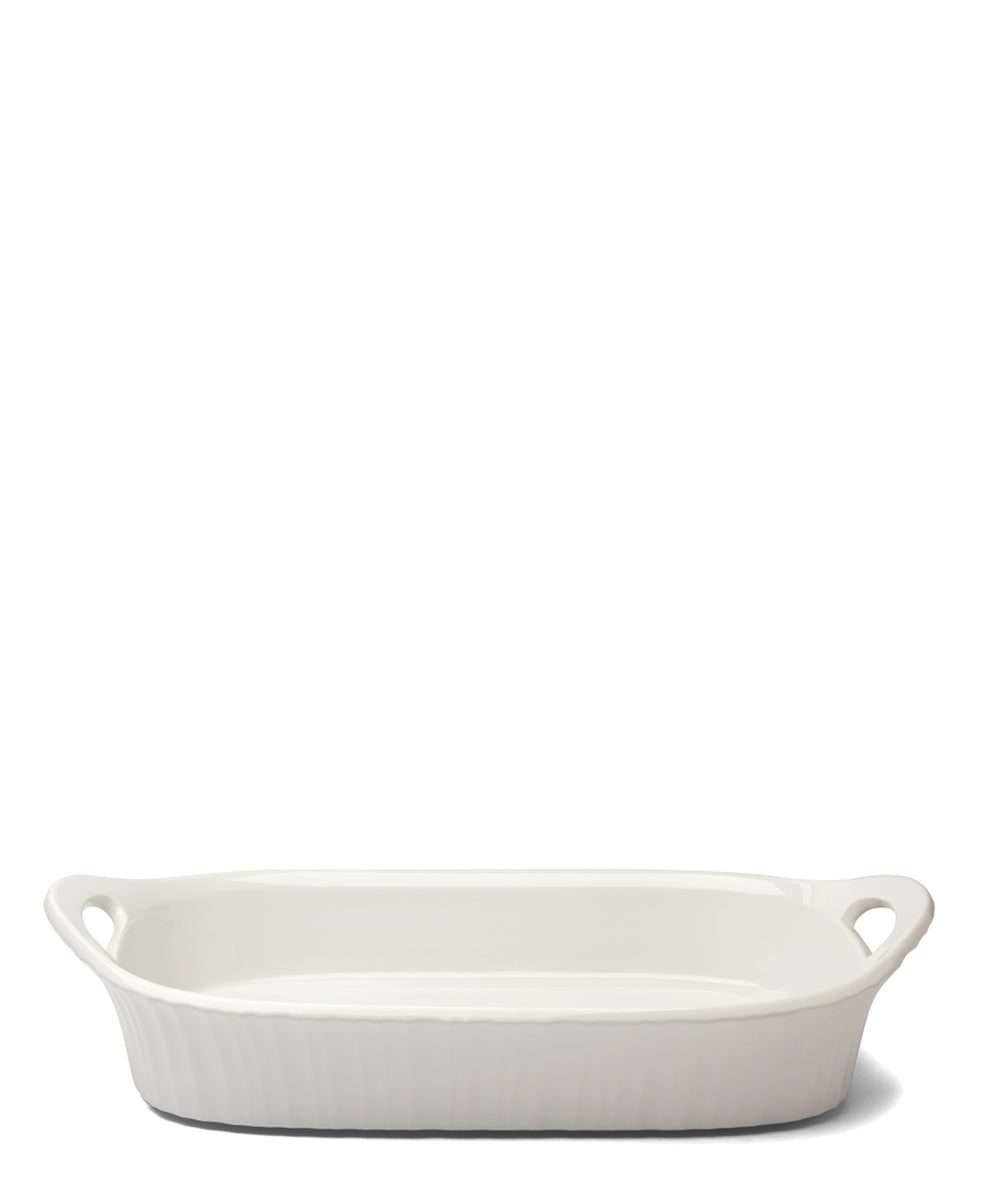 Corningware French White Rectangle Casserole 2.85L