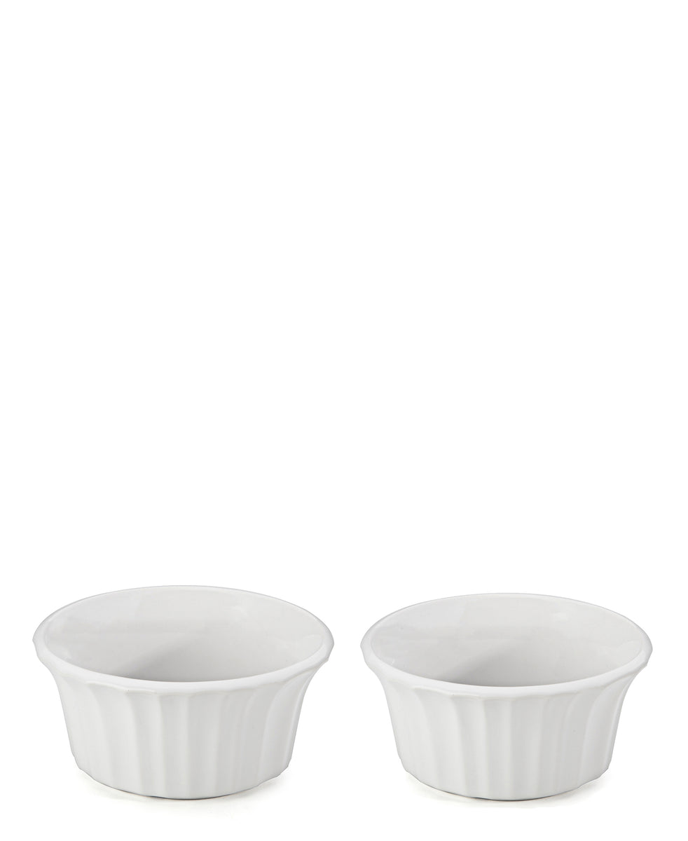 Corningware French White Round Ramekin 2pc - White