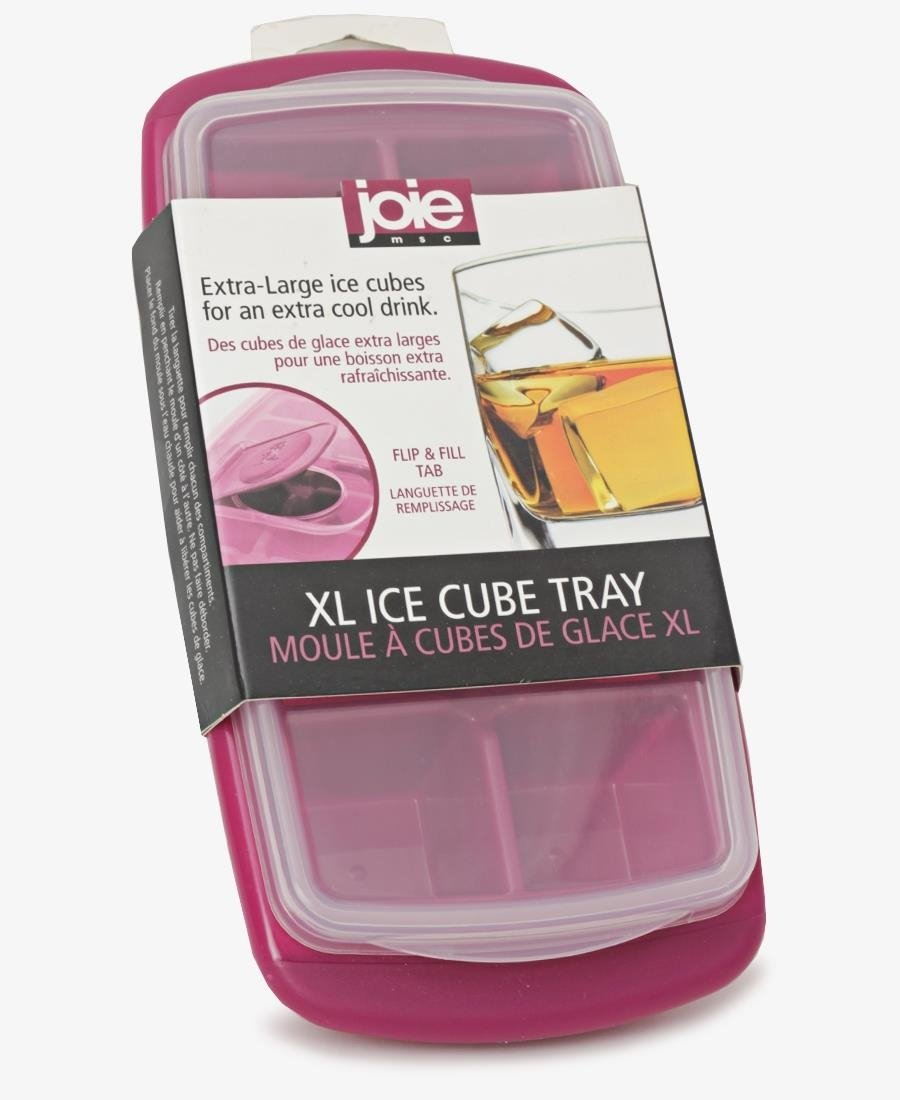 Joie Large Ice Cube Tray - Burgundy