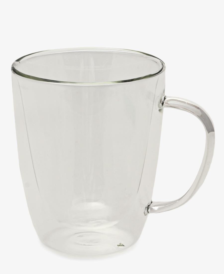 Glass Latte Mug - Clear