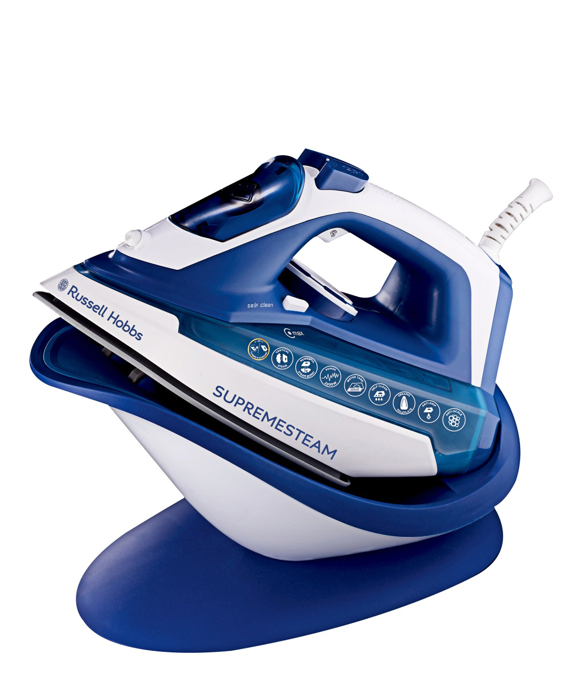 Russell Hobbs Supreme Steam Iron - Blue