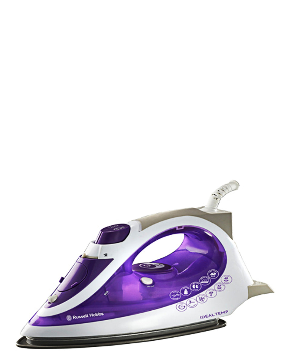 Russell Hobbs Ideal Temp Iron - Purple