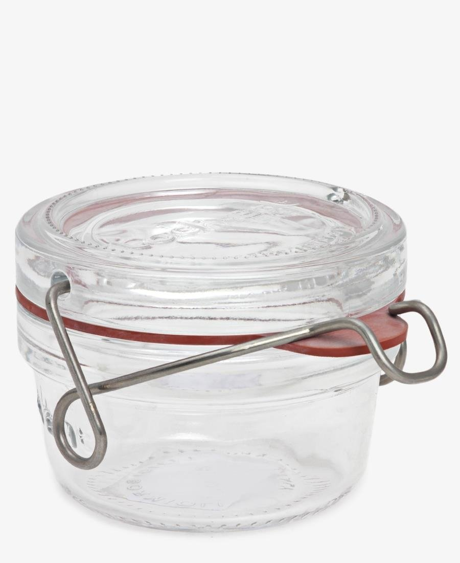 80Ml Lock-Eat Food Jar With Lid - Clear