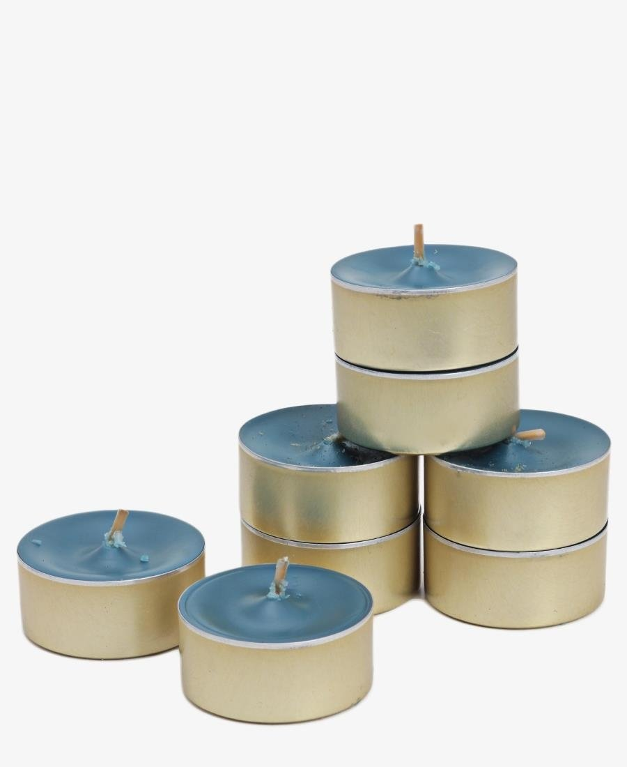 Cinnamon Spice Tea Lights - Teal