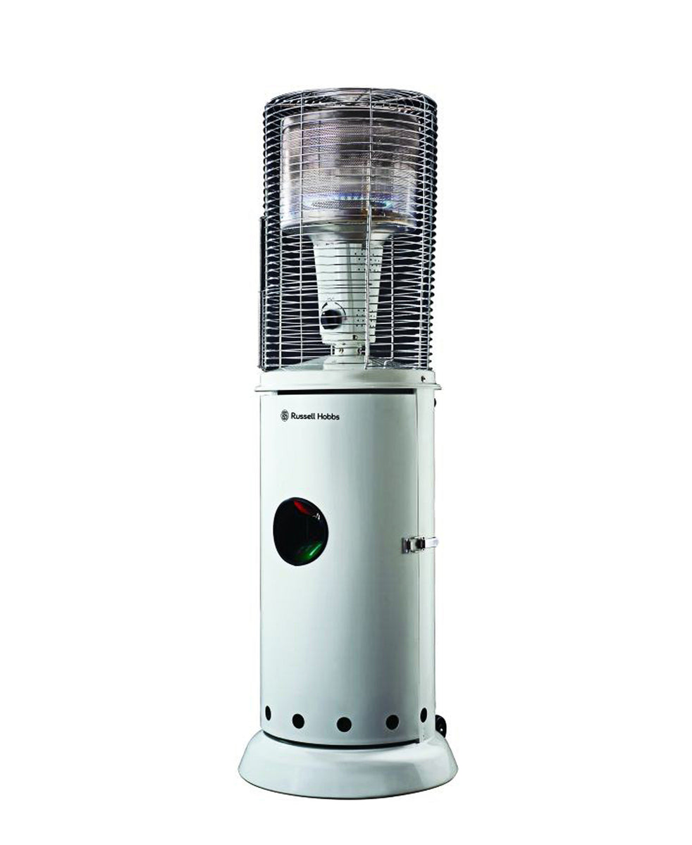 Russell Hobbs Outdoor Gas Heater - White