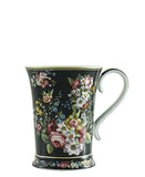 The Culinarium Floral Mug 270ml - Black