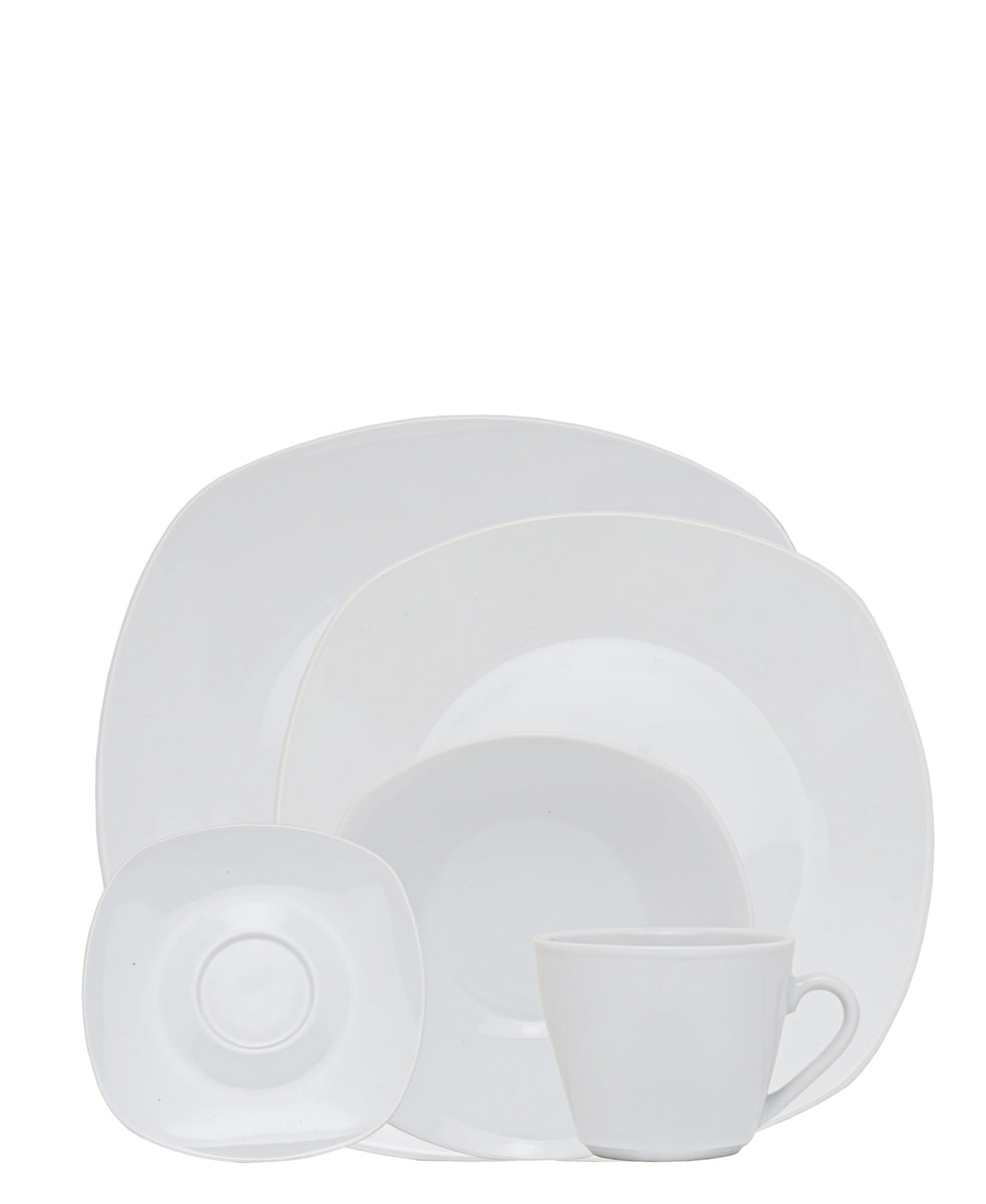 Casa Modeina Dinner Set 20 Piece - White