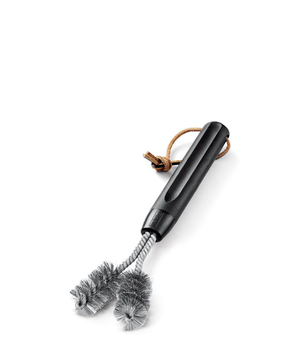 Weber Cast Iron Grill Brush - Silver