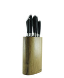 Eetrite Knife Block Set 6 Piece - Brown
