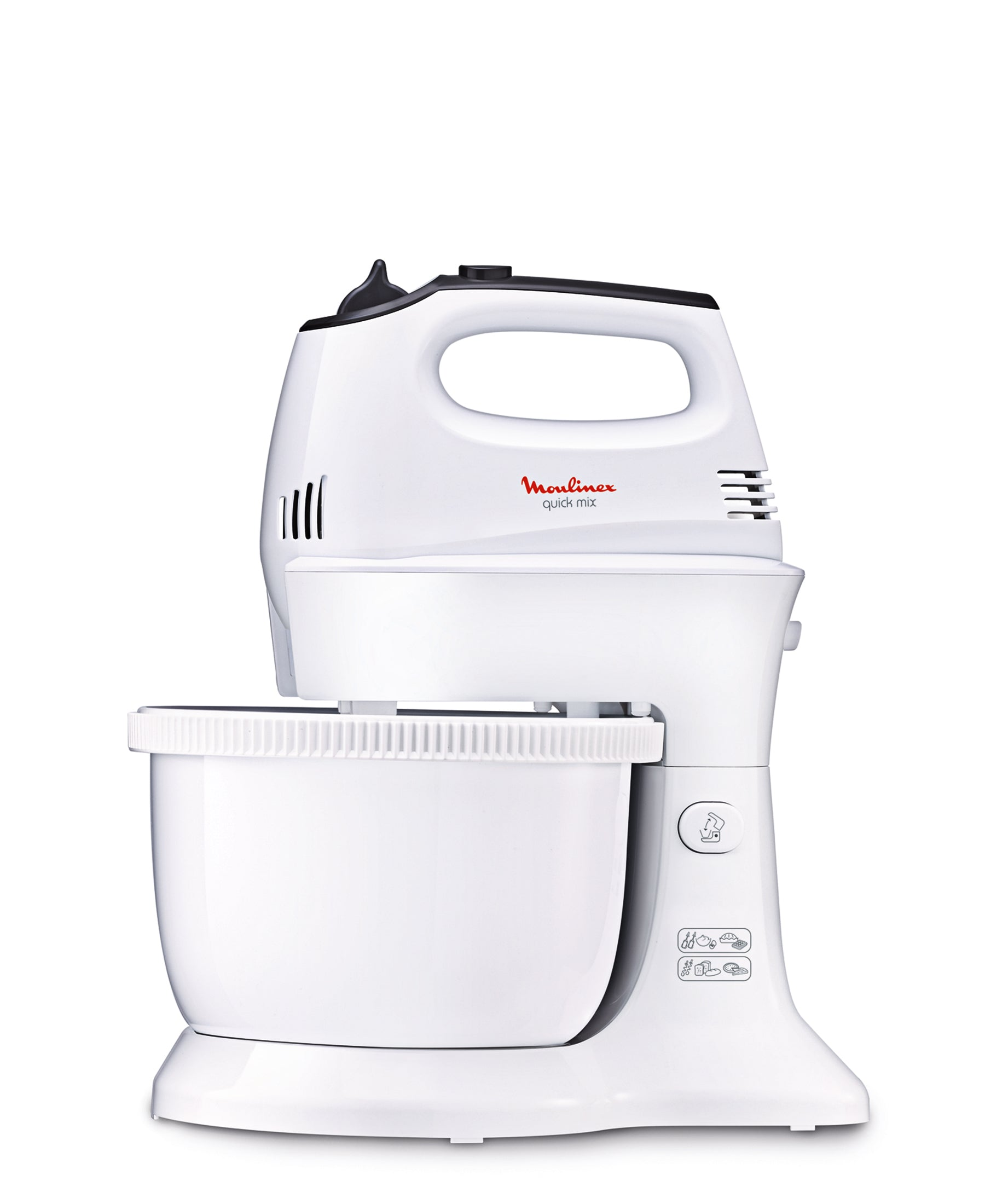 Moulinex Quick Mix Hand Mixer With Bowl - White