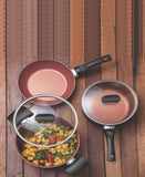 Tramontia Vermont Cookwear Set 6 Piece - Brown