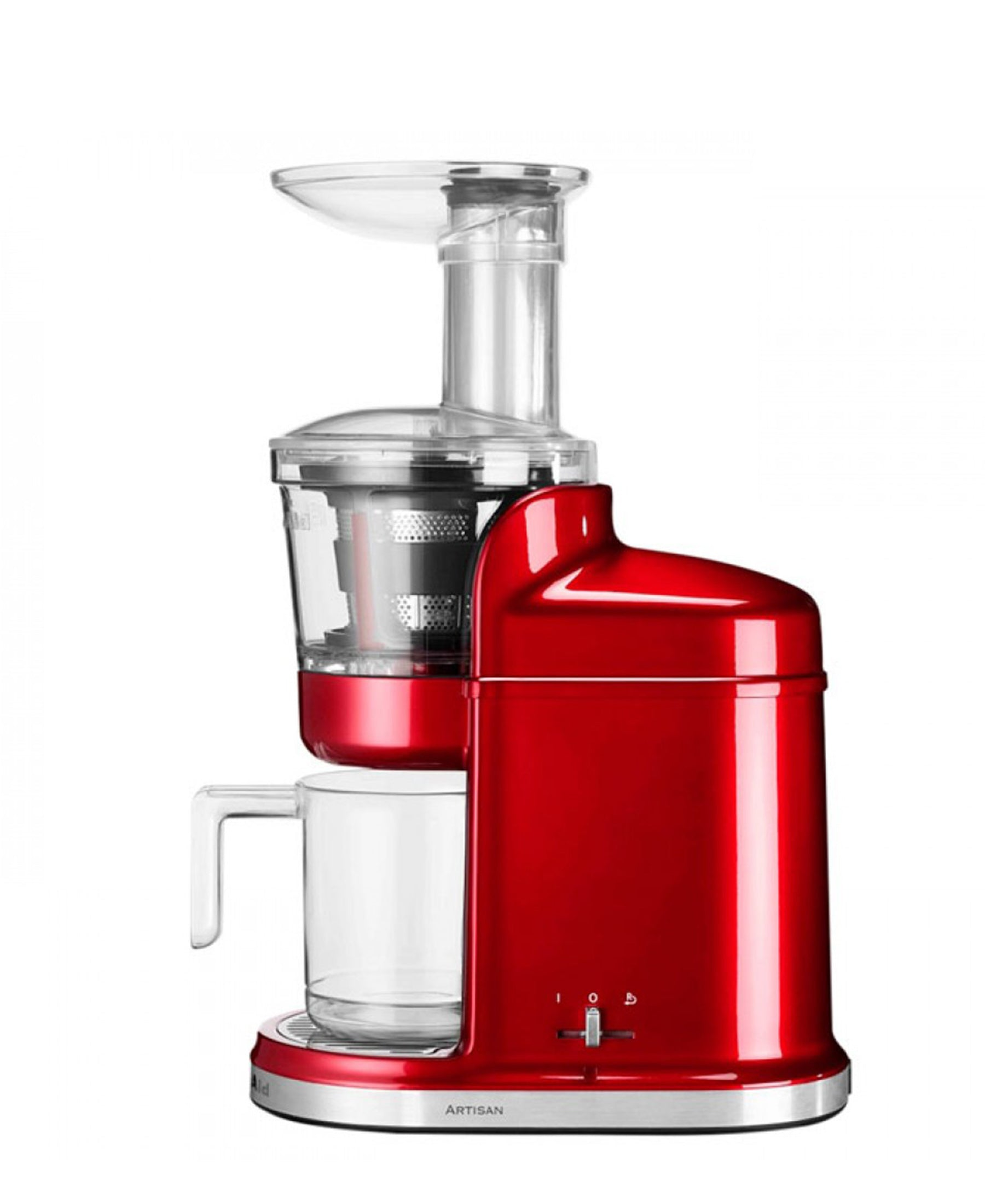 KitchenAid Maximum Extraction Juicer - Candy Apple Red